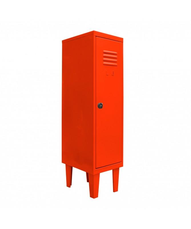 Lockers kids 1 puerta Rojo