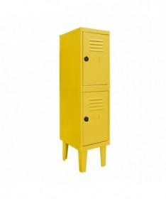 Lockers kids 2 puertas  Amarillo