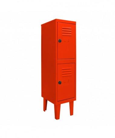 Lockers kids 2 puertas  Rojo