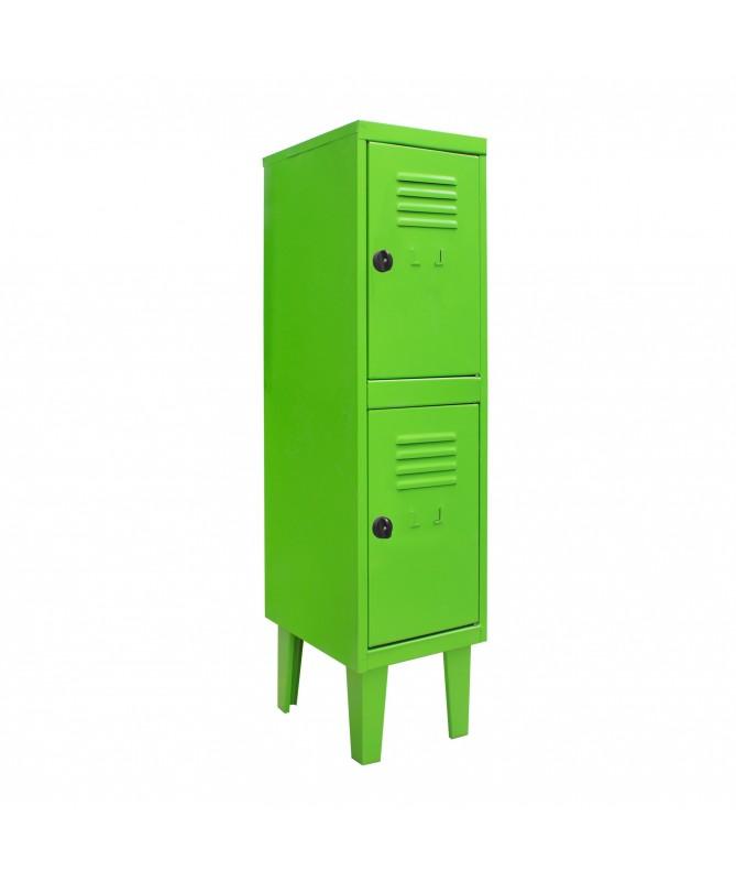 Lockers kids 2 puertas  Verde