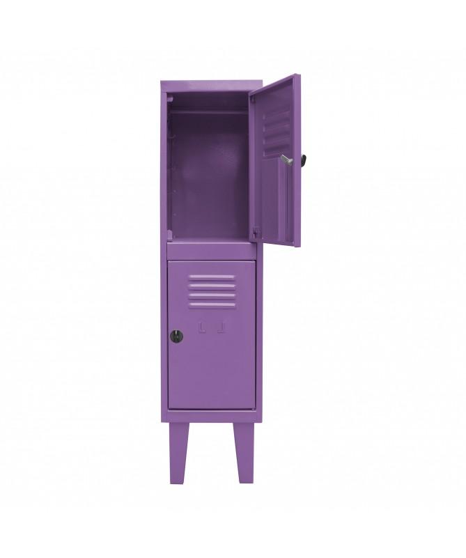 Lockers kids 2 puertas  Lila